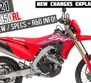 2021 Honda CRF450RL Review / Specs + NEW CRF450L Changes Explained! | New 2021 Dual Sport CRF Motorcycles / Dirt Bikes from Honda