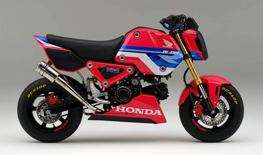 NEW 2021 Honda Grom 125 HRC Race Kit Performance Parts, Exhaust, ECU and more...