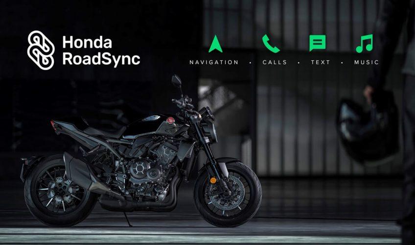2021 Honda Motorcycle Bluetooth Roadsync Smartphone App / Smart Phone Voice Control system
