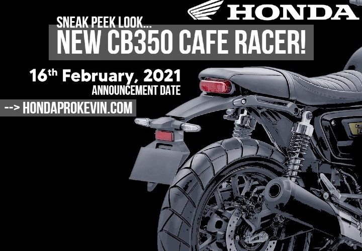 2021 Honda CB350 Cafe Racer Release Date Announced! New 2022 Motorcycle for the USA?
