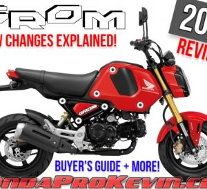 2022 Honda Grom 125 Review / Specs + New Changes Explained! Release Date, Price, Colors + More on the NEW 2022 Honda Grom MSX125!