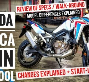 2021 Honda Africa Twin CRF1100L Video Review / Changes Explained and Model Lineup Differences Explained too plus more on this 2021 Adventure Motorcycle!