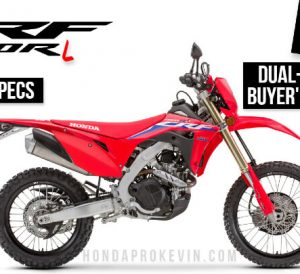 2022 Honda CRF450RL Dual-Sport Motorcycle Review / Specs - CRF 450 L