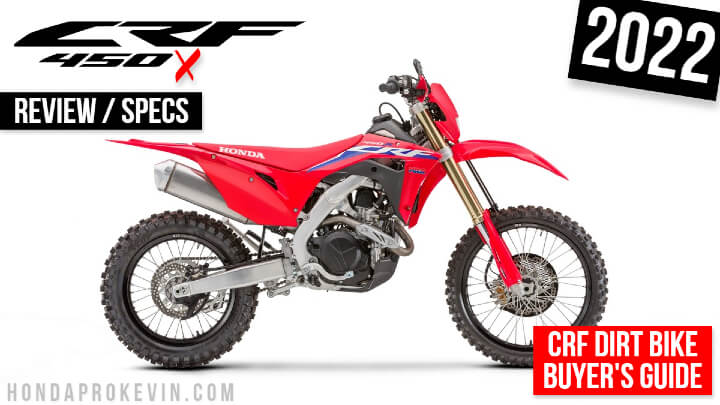 2022 Honda CRF450X Dirt Bike Review / Specs + CRF450 Changes Explained!