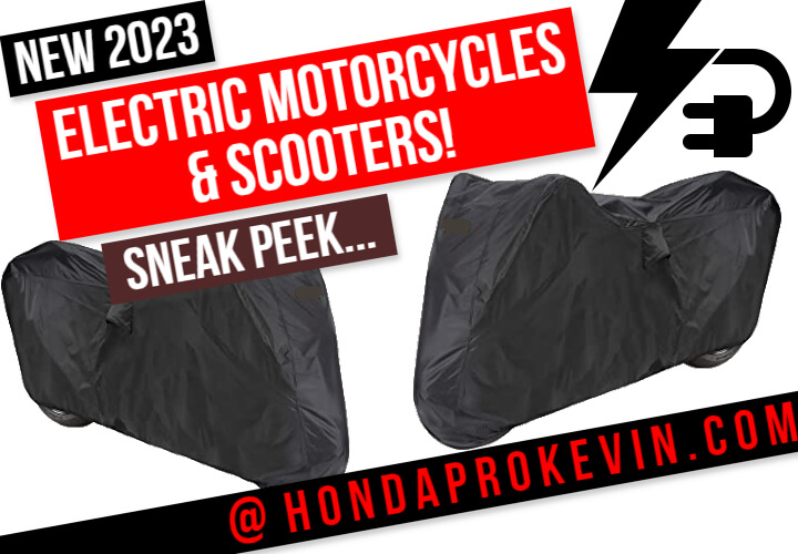 NEW 2023 Electric Honda Motorcycles & Scooters | Model Lineup Announcement - Official | Electric ATV, Side by Side, UTV, SxS Vehicles