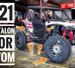 Custom Honda Talon 1000R Accessories Video Review: Doors, Windshield, Skid Plate, A-Arm Guards, Nerf Bars and more for the 1000cc Sport Side by Side / UTV / SxS