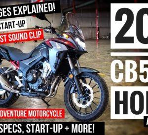 2021 Honda CB500X Video Review / Specs - Buyer's Guide | Adventure Motorcycle / Dual Sport Bike