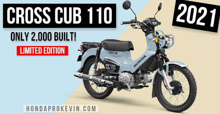 New 2022 Honda Cross Cub 110 Motorcycle Releasing in the USA?