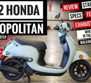 2022 Honda Metropolitan Scooter Video Review / Buyer's Guide 49cc Model Lineup