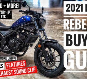 2021 Honda Rebel 300 Video Review / Motorcycle Buyer's Guide!