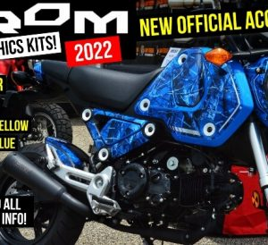 Official 2022 Honda Grom 125 Graphics Kits Review / Accessory Prices + More on this new 125cc Motorcycle!