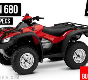 2022 Honda Rincon 680 ATV Review / Specs: Changes, Horsepower & Torque, Ground Clearance, Suspension Travel, Engine Specs + More on the TRX680 FourTrax