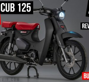 2022 Honda Super Cub 125 Review / Specs + NEW Changes Explained | USA Release Info plus more on this 125cc Vintage / Retro styled Mini Bike Automatic Motorcycle, Scooter