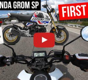 I Bought a 2022 Honda Grom SP: First Ride Video! | 2022 Honda Motorcycle / Mini Bike / miniMOTO