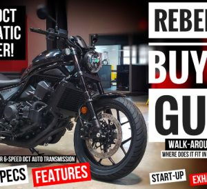 New Honda Rebel 1100 Review / Specs | Automatic Cruiser Motorcycle Buyer's Guide CMX1100