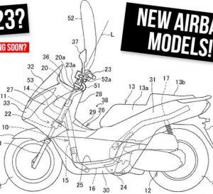 New Honda Motorcycle & Scooter Airbag Models Releasing Soon...?
