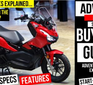 2022 Honda ADV 150 Scooter Review + Comparison VS PCX 160 | The best scooter you can buy for 2022!
