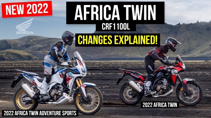 2022 Honda Africa Twin CRF1100L Changes & Updates Explained!