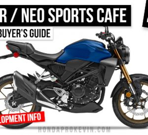 2022 Honda CB300R Review: Specs, Features, R&D Info | Honda 300 Motorcycle / Naked Sport Bike Buyer's Guide | CB300
