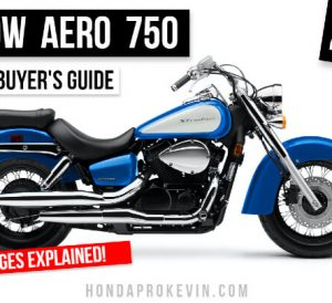 2022 Honda Shadow Aero 750 Review: Specs, Changes Explained, Price, Colors | 2022 Honda VT750 Motorcycle / Cruiser Buyer's Guide