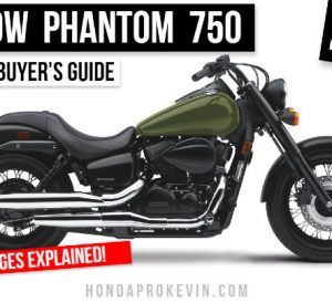 2022 Honda Shadow Phantom 750 Bobber Motorcycle Review: Specs, Changes, Features | VT 750 Cruiser Buyer's Guide