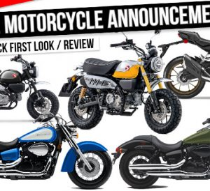 New 2022 Honda Motorcycles Released | Model Lineup Announcement Review / First Look at New Changes!