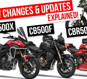Review: New 2022 Honda CB500X, CB500F, CBR500R Changes & Updates Explained | 2022 Motorcycle Buyer's Guide