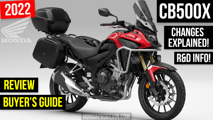 2022 Honda CB500X Review / Specs + NEW Changes Explained | Adventure Motorcycle Buyer's Guide CB 500 X