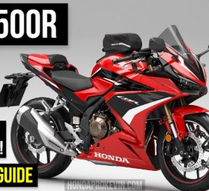 2022 Honda CBR500R Review: Specs, Changes, Price, Colors + More! | 2022 CBR Sport Bike / Motorcycle Buyer's Guide