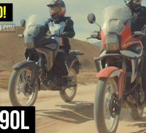 New 2022 Honda CRF190L Adventure Motorcycle Released! | Smaller Africa Twin Dual Sport Bike