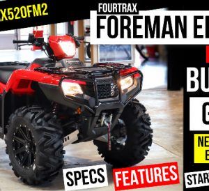 """2022 Honda Foreman 520 EPS ATV Review / Specs / Features + New Changes Explained 