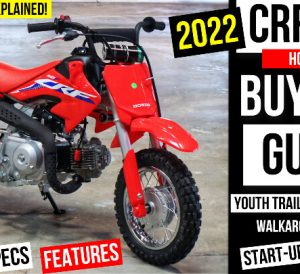 2022 Honda CRF50 Review + New Changes Explained   Kids / Youth Dirt Bike Buyer's Guide
