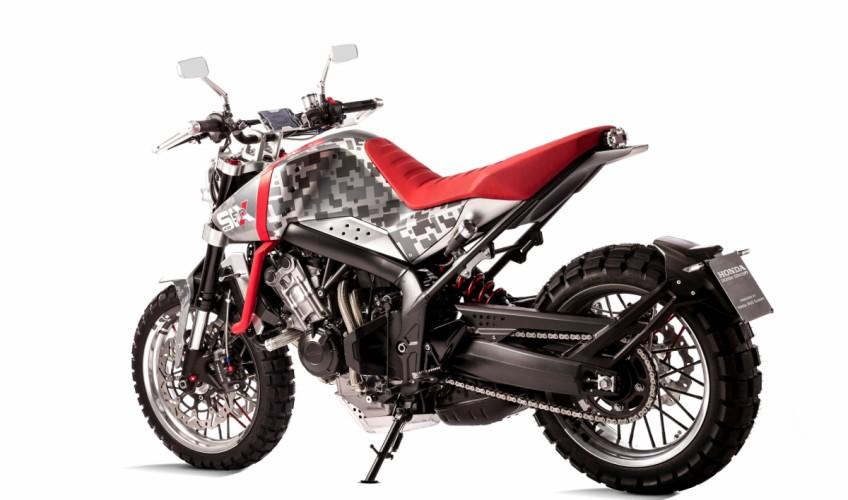 Honda Cbsix50 Concept Scrambler Dual Sport Motorcycle For 2017 2018 Eicma Pro Kevin