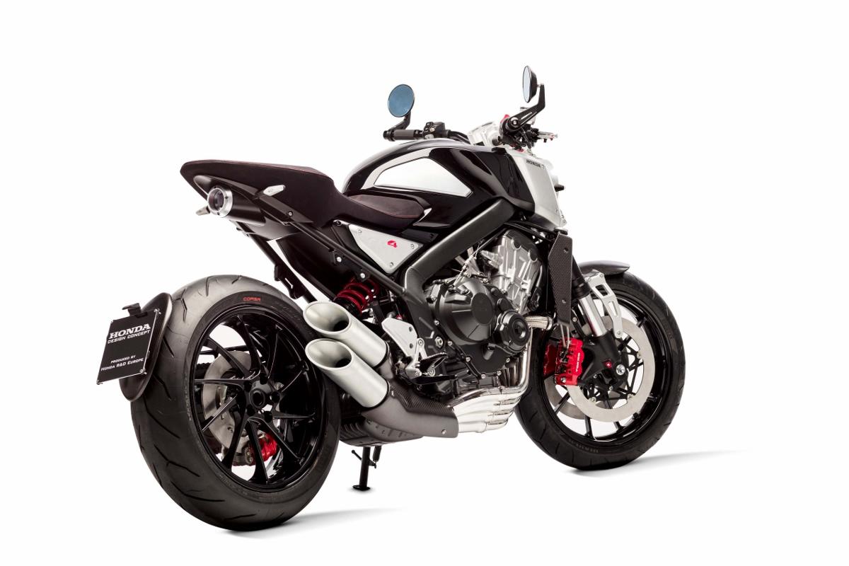 2017 - 2018 Honda CB4 Concept Motorcycle