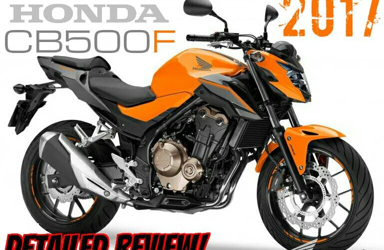 2017 Honda CB500F Review / Specs | Naked CBR Sport Bike / StreetFighter Motorcycle