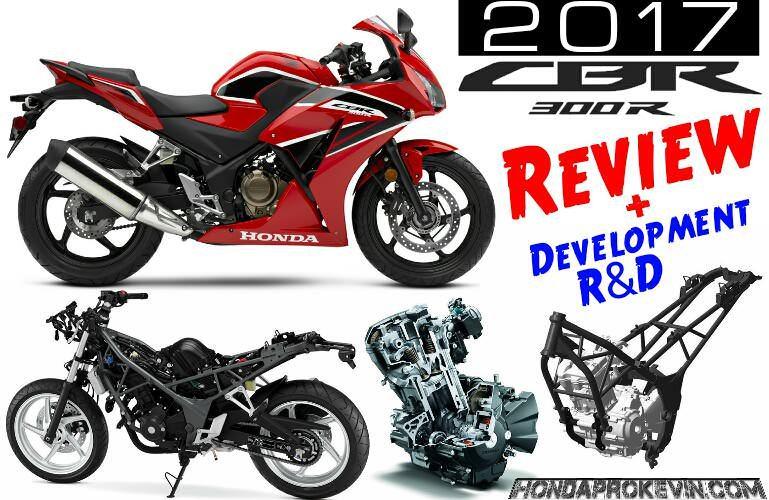 2017 Honda CBR300R Review / Specs & Changes - Sport Bike Motorcycle - Price, MPG, HP, TQ Performance Info
