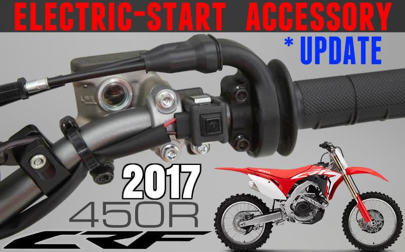 2017 Honda Crf450r Electric Start Kit Price Fi Tuner Accessories