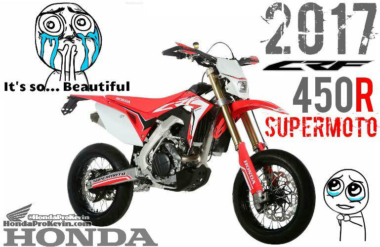 2017 Honda CRF450R SuperMoto Motard Bike / Motorcycle Review / Specs - For Sale & Street Legal CRF | CRF450R / CRF450X / CRF500R / CRF500X