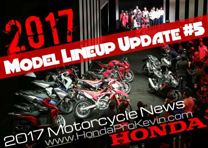 2017 Honda Motorcycles | Models Lineup Announcement #5 | New Bikes, Scooters Reviews & Specs, Release Dates, Prices