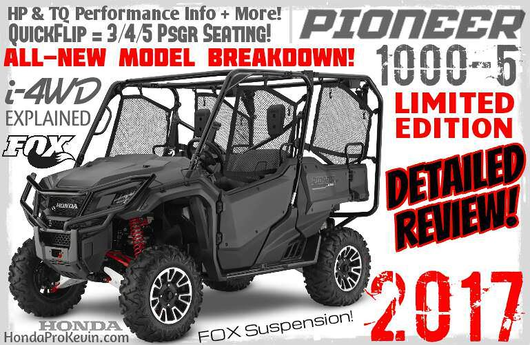 Honda Pioneer 1000-5 Storage Cover P//N 0Sp34-Hl4-100