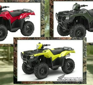 2017 Honda ATV Prices / MSRP - Comparison Review