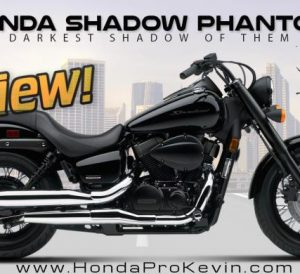 2017 Honda Shadow Phantom 750 Review / Specs - Cruiser Motorcycle Price, Colors, HP & TQ Performance, MPG + More!
