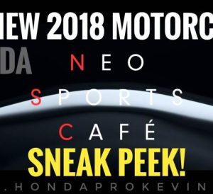 New 2018-2019 Honda Neo Sports Cafe Racer Motorcycle / Bike Video - EICMA Show