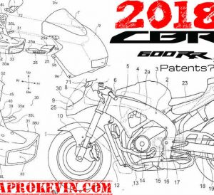 Leaked 2018 Honda CBR News? / Changes - CBR600RR Sport Bike Motorcycle Patent Documents