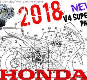2018 Honda V4 Motorcycle / CBR Sport Bike News - RVF 1000 SuperBike Patents