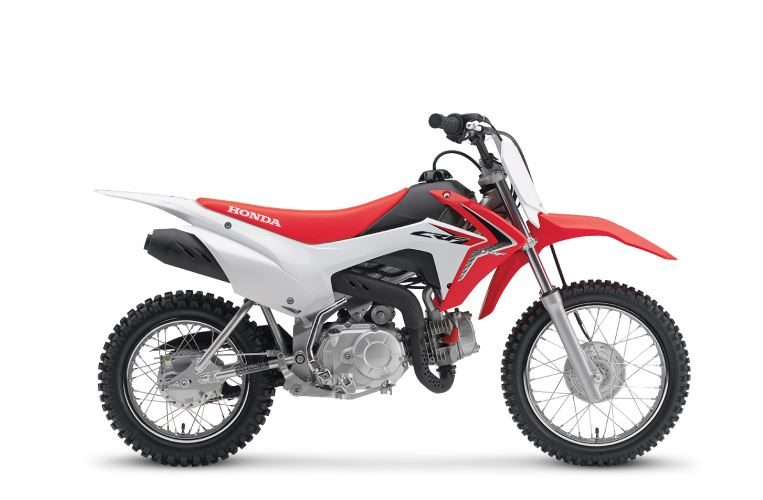 2018 Honda CRF110F Review of Specs / Features | CRF Dirt & Trail Bike / Motorcycle (CRF110FJ ...