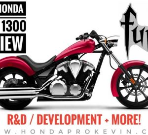 2018 Honda Fury 1300 Review / Specs: Price, Colors, MPG, HP & TQ Performance Info + More! 1300 Chopper Motorcycle / Cruiser