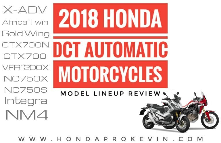 2018 Honda Automatic Motorcycles / Model Lineup Review & Buyer's Guide | Detailed Specs + More!