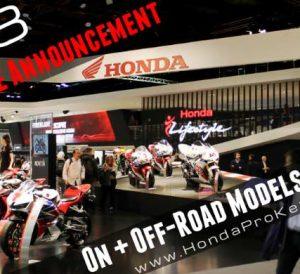 New 2018 Honda Motorcycles Announced! Model Lineup Review | 2018 Honda CBR Sport Bikes, Naked CB, Grom + 2018 Honda CRF Race Dirt Bikes