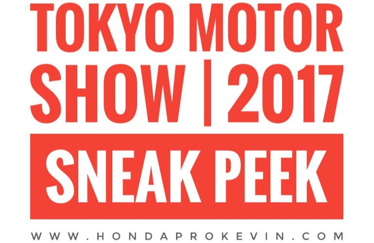 2018-2019 Honda Motorcycles / Concept Bikes @ Tokyo Motor Show 2017